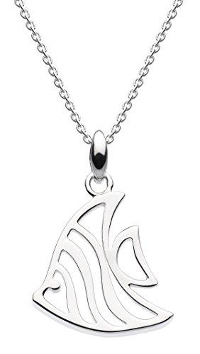 Dew Halskette aus Sterlingsilber mit Seglelflosser-Anhänger und 45,7cm Länge