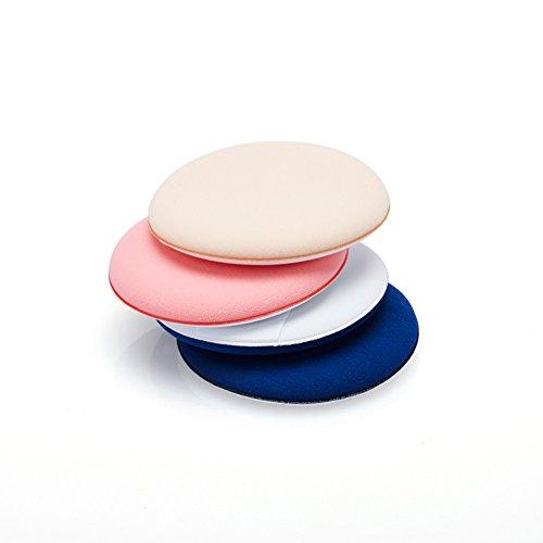 4 xdemarkt Maquillage éponge latex maquillage éponges Air Cushion Puff pour poudre, crème ou liquide maquillage
