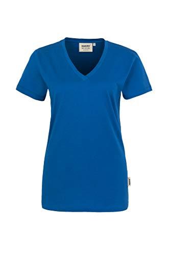 "HAKRO Damen V-Shirt ""Classic"" - 126 - royalblau - Größe: L"
