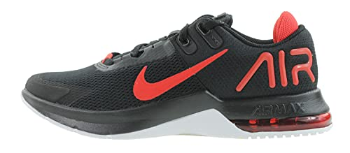 Nike Herren AIR MAX Alpha Trainer 4 Gymnastikschuh, Black Chile Red White, 43 EU