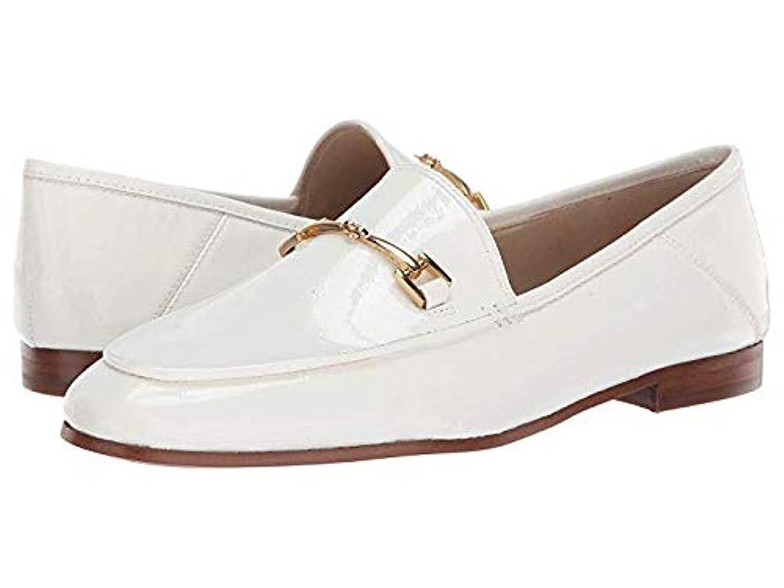 独立したミリメーター実現可能[Sam Edelman(サムエデルマン)] レディースローファー?靴 Loraine Loafer Bright White Goat Crinkle Patent (27.5cm) M [並行輸入品]