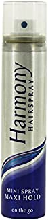 Harmony Mini Spray/Maxi Hold Hairspray 75 ml