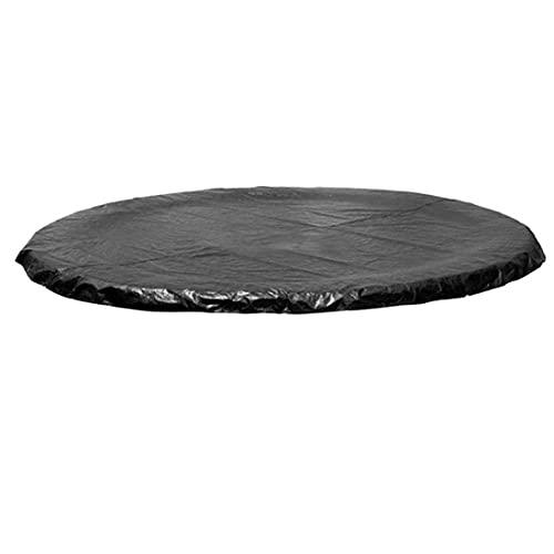 Tuimiyisou Cama Elástica Cubierta, Trampolín Redondo De Tiempo Cubierta del Viento Lluvia UV Y Resistente para Trampolín Aire Libre 2.44m