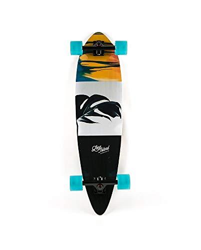Long Island Kona Essential Pintail Complete Longboard, Erwachsene, Unisex, Mehrfarbig, Einheitsgröße