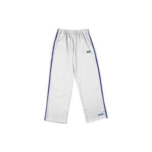 Kwon Capoeira broek, in 2 kleuren met zijstrepen, kleur: wit, maat: XL