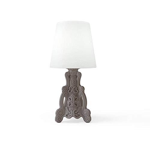 Design of Love Lady of Love Lampe de Table Gris Tourterelle