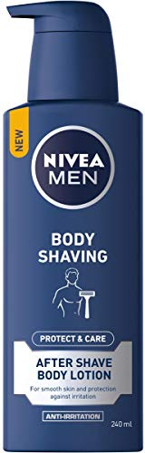 NIVEA MEN Body Shaving Protect & Care After shave Body Lotion - 240 ml