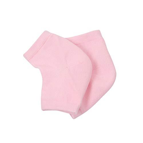 Lurrose 1 Paire de Chaussettes 1 Paire de Gants Gel Gants Hydratants Chaussettes Bout Ouvert Gants de Soulagement Rapide de La Douleur pour Les Mains