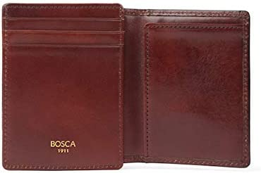 Bosca Old Max Fashion 84% OFF Leather Collection Pocket - Wallet Front