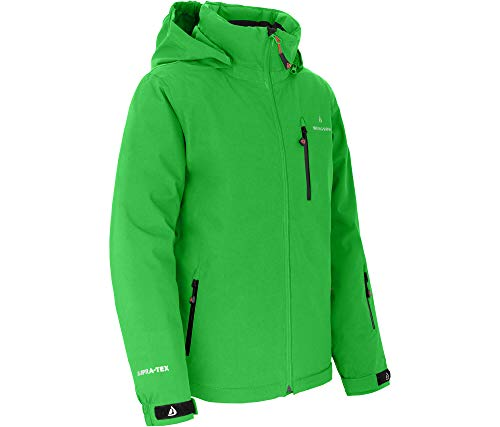 Bergson Kinder Skijacke Lupo, Classic Green [210], 176 - Kinder