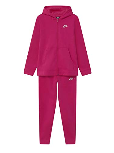 Nike Tuta da Ragazzi Sportswear Core Fuxia Taglia M (137-146 CM) Cod BV3634-615