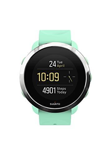 Suunto 3 Fitness - Reloj Multideporte con GPS y pulsómetro incorporado, Pantalla Matricial, Unisex Adulto, (Ocean)