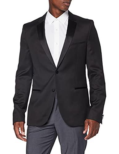 HUGO Alinzs Blazer, Nero (Black 001), 44 Uomo