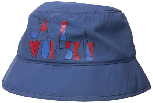Jack Wolfskin Unisex-Kinder Supplex Magic Forest Chapeau Strickmütze, (Ocean Wave), (Herstellergröße: Medium)