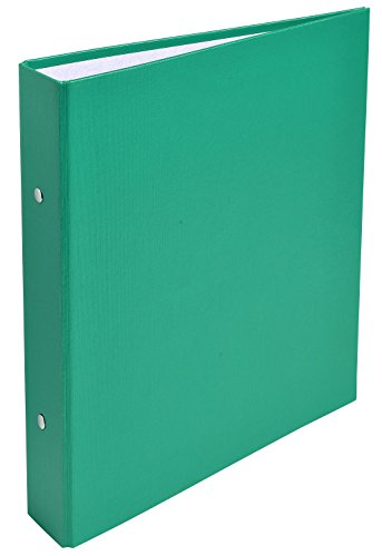 Exacompta 51073E Cartelle ad Anelli, 23x21 cm, Verde