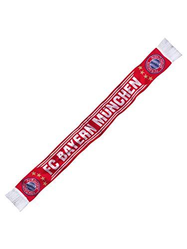 FC Bayern München Écharpe pour Supporter Rouge/Blanc