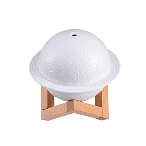 3D Moon Planet Lampe USB Luftbefeuchter Aroma Diffusor Nachtlicht Mit Halterung LED Mini Modern Touch Control Light