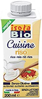 Isola Bio Crema Para Cocinar De Arroz Bio, 200 Ml 21 g