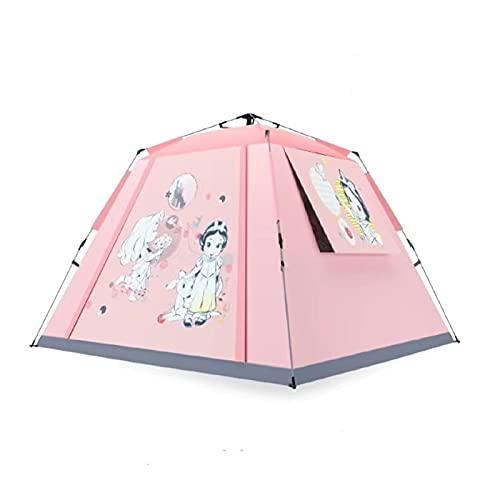 Tienda de sombra Tienda de campaña Camping al aire libre espesado Impermeable A prueba de agua Picnic Picnic completamente automático Abra Cuatro esquinas Camping Camping Tienda Equipo de campamento a