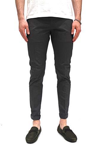 DONDUP Pantalone Uomo UP235-CS0089 Grigio Scuro 34