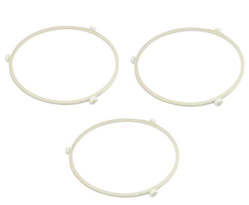 3PCS Mikrowelle 17,5cm Innendurchmesser Mikrowelle Roller Ring Teller Tablett drehbar Unterstützung