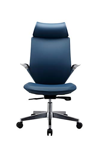 INNOWIN® Parker High Back PU Leatherette Office Chair (Blue)