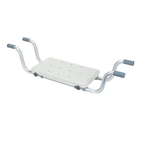 MorNon Badewannensitz Senioren Badestühle Duschstuhl bis 150Kg Aluminium