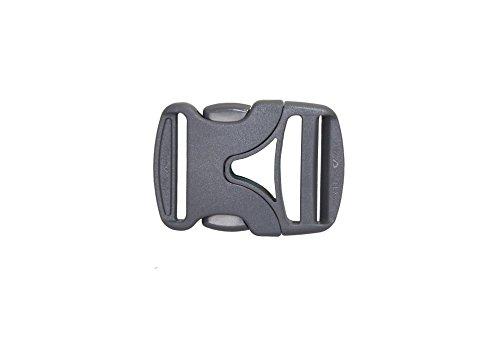 Tashev Duraflex Mousqueton de rechange pour sac à dos avec boucle latérale et sifflet de signalisation Nexus 40 mm
