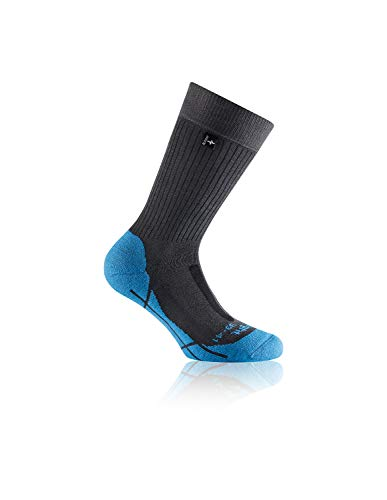 Rohner advanced socks | Wandersocken | Trek Light l/r (36-38, Blau)
