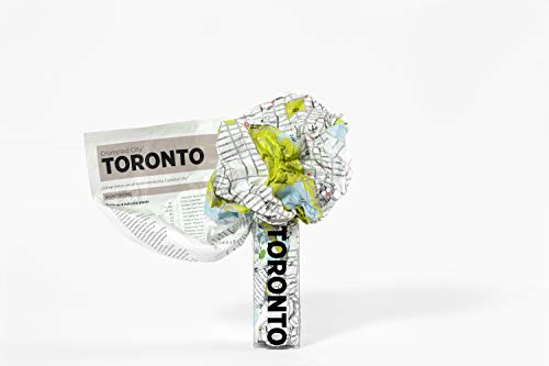 Toronto Crumpled City Map (Crumpled City Maps)