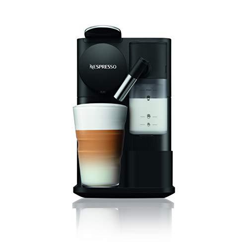 De'Longhi Lattissima One Evo, Máquina de Café en Cápsulas de un Solo Uso, Espumador de Leche Automático, Cappuccino y Latte, EN510.B, 1450W, Negro