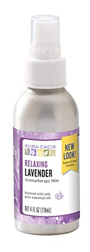 Aura Cacia Relaxing Lavender Aromatherapy Mist 4 fl oz   GC/MS Tested for Purity