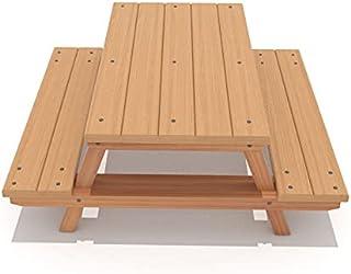 GOLDLAND Park Leisure Outdoor Chair and Bench Set SHA-171284 - H70cm x W130cm x D120cm