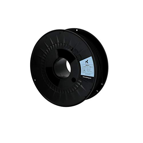 KIMYA - 3D Printing Filament - ABS-S - Parts Printing - 3D Product - 1.75mm - 750g - Black