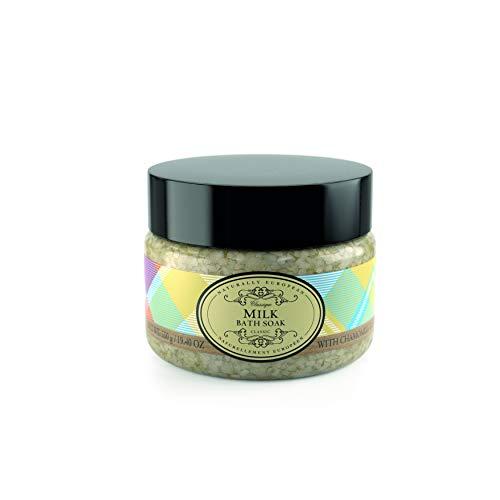 Naturally European Milk Aromatic Bath Soak - Bath Salts 550g | Soothing Aching Muscles | Ease Stress