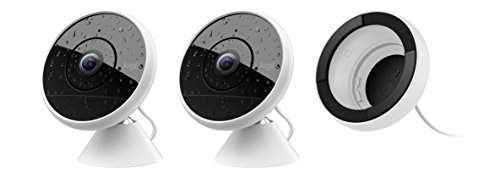 CIRCLE 2 MULTI-PACK: 2 Wire-Free Cameras + 1 Wired Camera