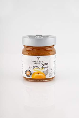 To Filema Tis Lelas Sin azúcar añadido mermelada Albaricoque 240 g, Paquete de 2