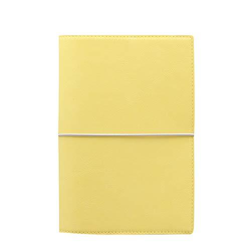Filofax Domino Soft Lemon Agenda.