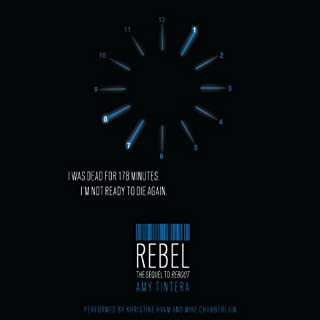 Rebel     Reboot, Book 2              By:                                                                                                                                 Amy Tintera                               Narrated by:                                                                                                                                 Khristine Hvam,                                                                                        Mike Chamberlain                      Length: 7 hrs and 59 mins     Not rated yet     Overall 0.0