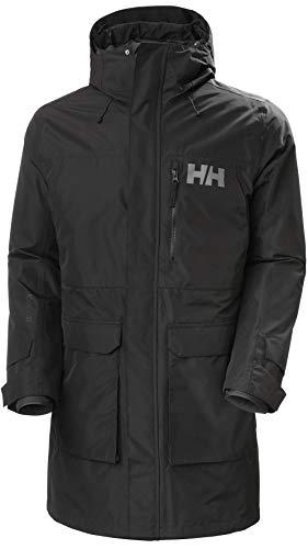 Helly Hansen Rigging Coat Abrigo, Hombre, Black, M