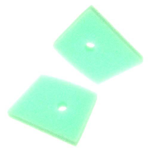 xlyze espuma filtro de aire para Husqvarna 5371863–01–123C 123L 123ld 223L 223r 322C 322L 322R cortacéspedes de Trimmers cepillo cortadores