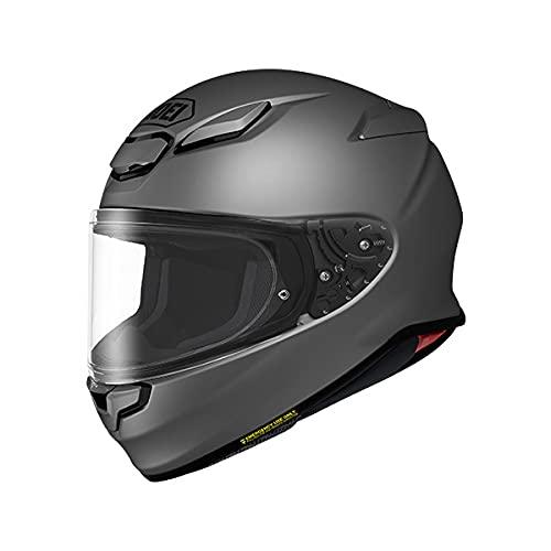 SHOEI ヘルメット Z-8 新型 フルフェイス Z8 バイク メンズ レディース かっこいい おしゃれ シンプル 単色 公道 ツーリング 通販 カラー:マットディープグレー サイズ:M