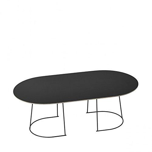Muuto Airy Coffee Table/Large/Large Black [W]
