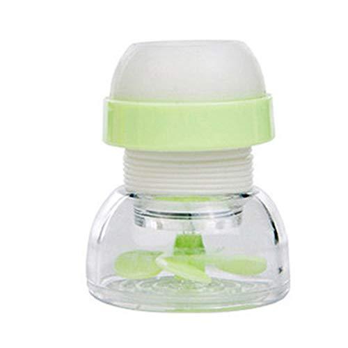 wangshang Grifo antisalpicaduras de agua con punta de filtro, ahorro de agua, grifo de cocina, filtro de agua, accesorio de cocina para baño