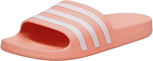 adidas CORE Women Adilette Aqua Badeschuh, Glopnk Ftwwht Glopnk, Gr.- 38 EU