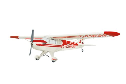 Jamara 7080 - Piper Super Cub EP-Por 1210 mm ARF Rot