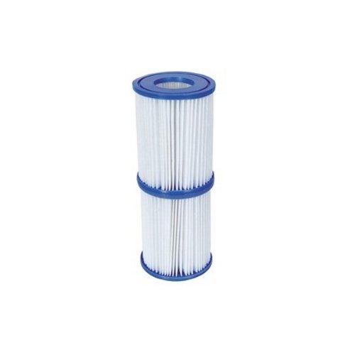 Bestway - Poolfilterpatronen Nr. 58094 - Für Pool und Lay-Z-Spa - Größe II, Mengenpackung 2