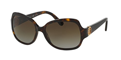 Tory Burch Women's 0TY7059 Sunglasses, Dark Tortoise