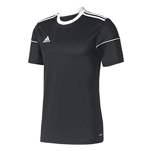 Adidas SQUAD 17 JSY SS BLACK/WHITE Jungen, Schwarz (Black/White), 152