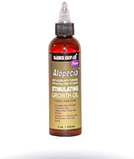 Barber Shop Aid Alopecia Amazing Stimulating Hair Growth Oil 4 oz